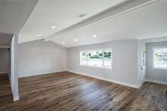 Light, bright with wood panel accent wall. #theinvestorhub #inspiration #phoenix #lasvegas #livingspaces