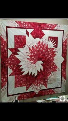 Red white diamond