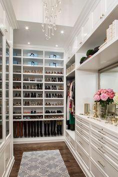 ... Master closet ideas closet traditional with dressing room shoe shelves ...