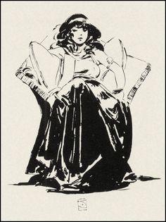 Jeffrey Jones - Woman Sitting In Chair