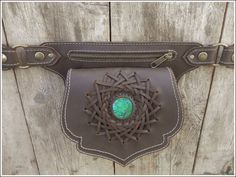 Leather Waist Bag, Leather bags & Pouches. Sibo Yanke Leather Craftwork. Barcelona (Spain)