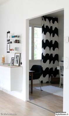 Great Marimekko Curtain Fabric Ideas with 57 Best Verhot Images On Home Decor Marimekko Fabric Textile Curtain Fabric, Fabric Panels, House Down Payment, Oil Canvas, Window Wall Decor, Marimekko Fabric, Curtains With Blinds, Home Interior, Scandinavian Design