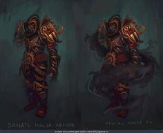 Rogue Ninja Armor by Tyson Murphy
