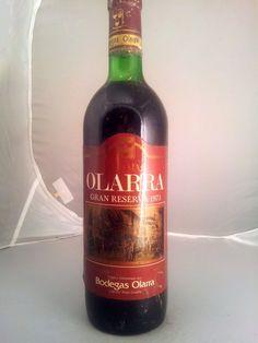 Bodega: Olarra D.O./Zona: D.O.Ca Rioja País: España Tipo de vino: Tinto
