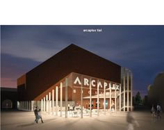 TIEL - De eerste impressie van de bioscoop die in het nieuwe cultuurkwartier in Tiel moet verrijzen, is woensdag gepresenteerd. Tussen de gemeente en exploitant Arcaplex is een intentieovereenkomst voor de bouw getekend.