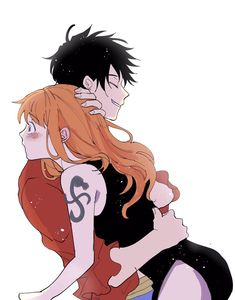 One Piece Anime, Nami One Piece, One Piece Fanart, Me Anime, Anime Furry, Anime Couples Drawings, Cute Anime Couples, Nami Swan, One Piece Photos
