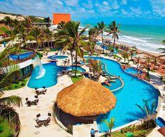 Que beleza! Essa é a estrutura do Ocean Palace Beach Resort & Bungalows, em Natal (RN)