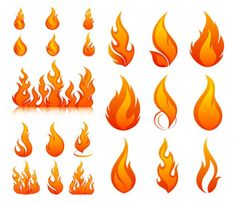 comment dessiner une flamme