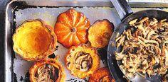 Pumpkin & Polenta Soufflé