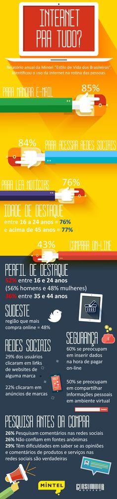 brasileiros acesso internet