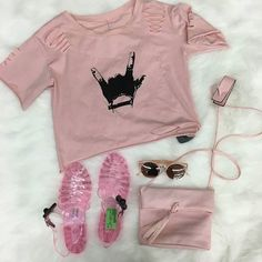 Blush pink is a must have summer color for an wardrobe! These pretty-in-pink items available at our HH location! http://ift.tt/2uhzHN5 - http://ift.tt/1HQJd81