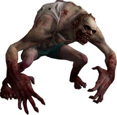 The Jockey appears in Left 4 Dead 2 and is my fave infected. As his names suggests, he will jump on a survivor and 'ride' them, whilst clawing at their face. The survivor has very little control whilst being ridden, until the Jockey is hit off. After that he is easy to kill. The Jockey is easy to spot as he does a loud randy laugh whilst approaching the survivors.
