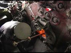 North-Korea Steam locomotive 2 - cab ride