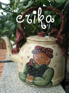 Country Crafts - Teapot