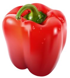 Transparent Red Pepper PNG Clipart Picture