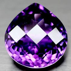 Amethyst 10192: Big Real Natural Mined Amethyst, Large Gem For Ring Or Pendant #773435X14 -> BUY IT NOW ONLY: $46.99 on eBay!