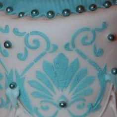 Detalle encaje glaseado Communion Cakes, Coin Purse, Sweets, Wallet, Purses, Flood Icing, Lace, Handbags, Gummi Candy