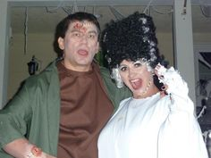 Frankenstein and Bride by PS