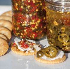 My Infamous Jalapeno Cowboy Candy Recipe, otherwise known as pickled jalapenos, bonus sweet pepper relish included