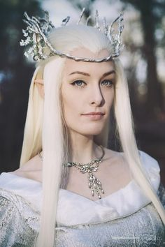 Calithilien - Queen of Mirkwood (Thranduil's wife) by ScarletWonder88