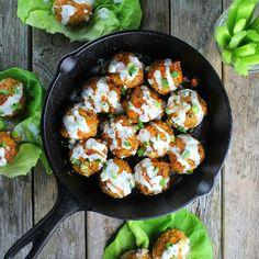Buffalo Chicken Meatballs | Taste And See