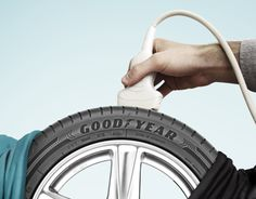 Goodyear Safety Campaign 2012 on Behance Advert Design, Poster Design, Graphic Design Posters, Modern Graphic Design, Ads Creative, Creative Advertising, Car Advertising, Advertising Design, Car Doctor