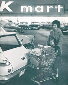 K mart used to be so cool.  They had a cafeteria and you could follow the blue light special around the store…