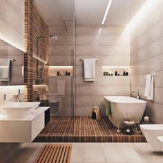 a look at some of the most popular bathroom decor from small bathroom decor modern bathroom to bathroom remodel designs Minimalist Bathroom Design, Bathroom Design Small, Bath Design, Tile Design, Minimal Bathroom, Classic Bathroom, Bathroom Designs, Unusual Bathrooms, Beautiful Bathrooms