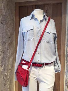 Chemise et pantalon Reiko, pochette Mademoiselle JEANNE