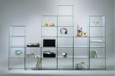 Glass Shelves For Sale Glass Shelving Unit, Glass Shelf Brackets, Glass Wall Shelves, Floating Glass Shelves, Glass Shelves Kitchen, Display Shelves, Display Cabinets, Glass Bookshelves, Shelving Units