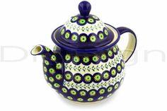 Polish Pottery teapot