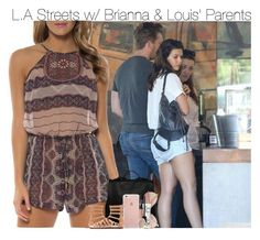 """""""L.A Streets w/ Brianna & Louis' Parents"""" by fangirl-1d ❤ liked on Polyvore featuring Jessica Simpson, Proenza Schouler, Forever 21, H&M, NARS Cosmetics, Smashbox and Topshop"""
