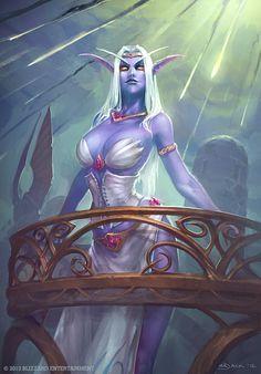 Queen Azshara by Mr--Jack.deviantart.com on @deviantART