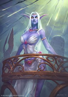Queen Azshara by Mr--Jack.deviantart.com on @deviantART