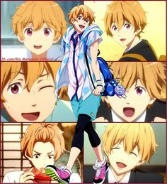 Hazuki Nagisa.  I will never stop fangirling over how cute he is!