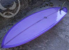"2011 Chusma Surfboards 6' 9"" X 21 1/4"" X 2 3/4"" Double Wing Single"