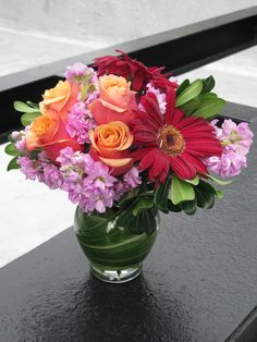 Surprise someone special in your life with a feminine NYC flower delivery. The only thing more beautiful than the blooms is her face as it lights up when she receives them!