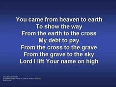 Lord I Lift Your Name On High (worship video w/ lyrics)