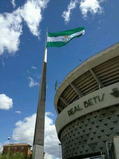 #Betis bandera estadio