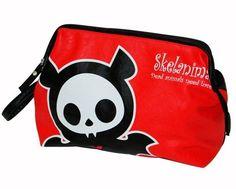 Bolsa Para cosméticos de Skelanimals #skelanimals #bat #cosmetic #bag #gothic #kawaii #xtremonline