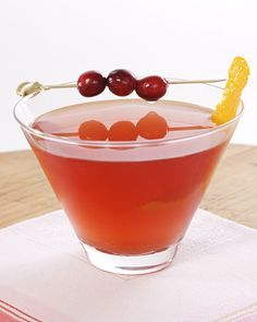 cranberry cosmo?  yes, please.