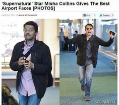 The paparazzi probably hides from misha