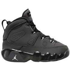 Jordan Retro 9 - Boys' Toddler - Anthracite/White/Black
