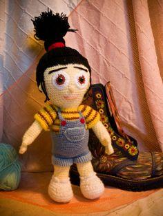 AnnaSHandMD stuffed toy crochet doll  Agnes by AnnaSHandMD on Etsy,