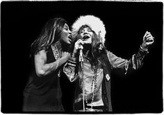 Janis and Tina @ Madison Square Garden, 1969, by Amalie R. Rothschild
