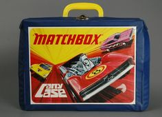 Matchbox case and cars, had this too