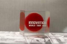 Награда (кубок) томбстоун из прозрачного или цветного акрила/оргстекла #award #trofy #acrylic #награда #кубок #приз #акрил