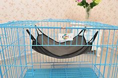 Hot Sale Pet Hammock Soft Bed Animal Hanging Pupply Cat Dog Comforter Ferret Cage House Gray -- Find out more about the great product at the image link.Note:It is affiliate link to Amazon.