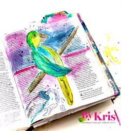 Dutch bible journaling. Watercolor. Jacobus 3. Journaling, Bible, Biblia, Caro Diario, The Bible