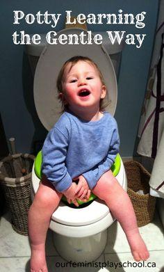 gentle potty learning via ourfeministplayschool